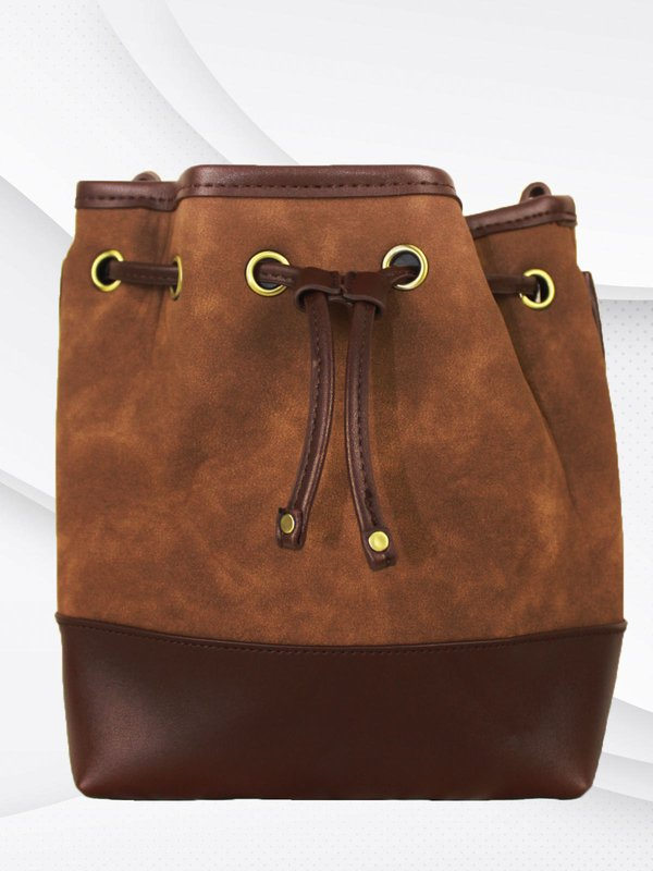 VALLECTEL SLING BAG (BROWN)