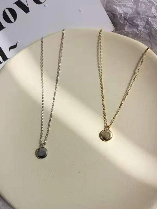 COIN NECKLACE (SILVER/GOLD)